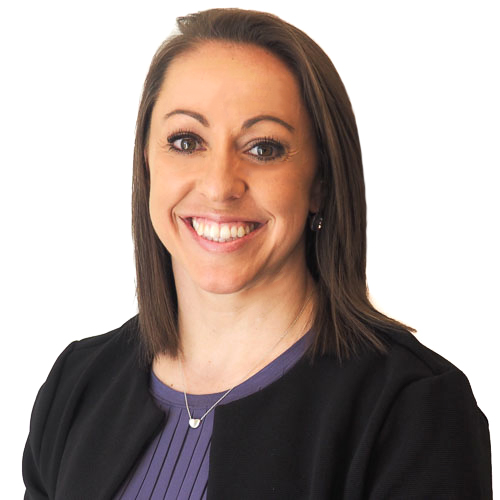 A photo of Clark Insurance staff member Courtney Rague